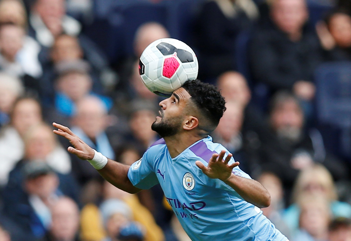 Manchester City: Riyad Mahrez posts training image on Instagram which could  please many supporters